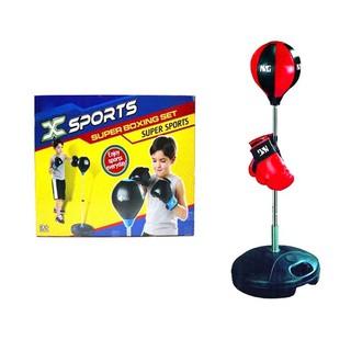 BỘ ĐẤM BOXING CHO BÉ KHỎE ĐẸP -Bộ đồ chơi thể thao đấm bốc cho bé boxing children
