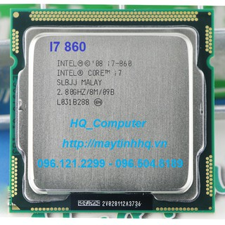 CPU Máy Tính Intel Core i7-860