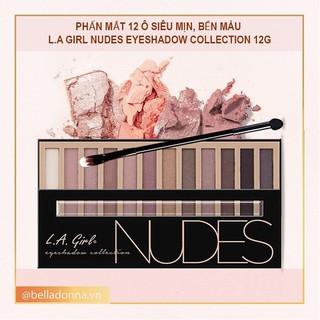 [Chuẩn Auth] Phấn mắt 12 ô siêu mịn, bền màu L.A GIRL Nudes Eyeshadow 12g thumbnail