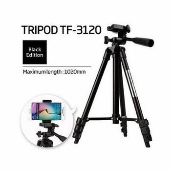 Giá Đỡ Tripod Nhôm Đen TF-3120