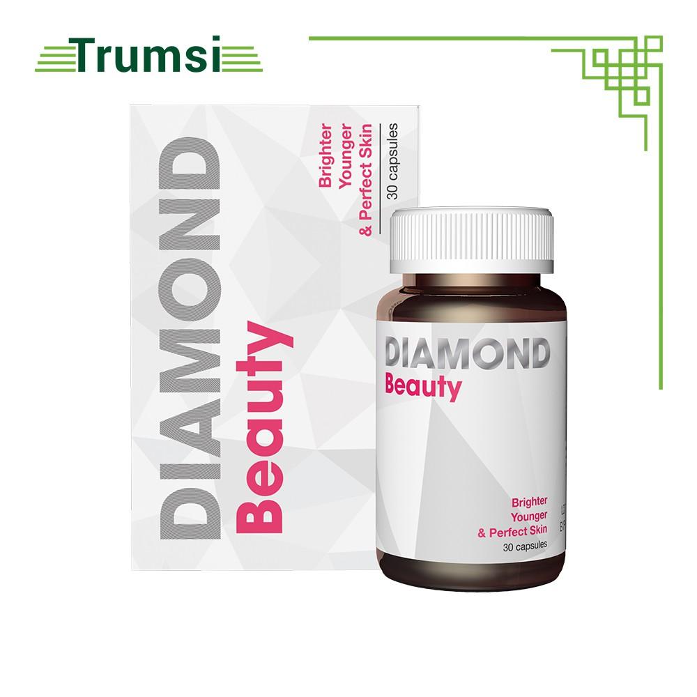 Viên Uống Đẹp Da Collagen Diamond Beauty USA Cải Thiện Nội Tiết Tố,Giảm Mờ Nám Sáng Tone Da - Hộp 30 Viên