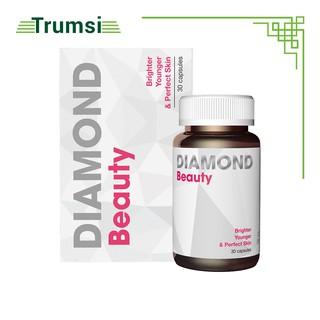 Viên Uống Đẹp Da, Collagen Trắng Da - Diamond Beauty USA - Cải Thiện Nội Tiết Tố,Giảm Mờ Nám. Hộp 30 viên thumbnail