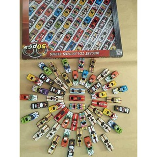 Bộ 50 xe đua đồ chơi cho bé