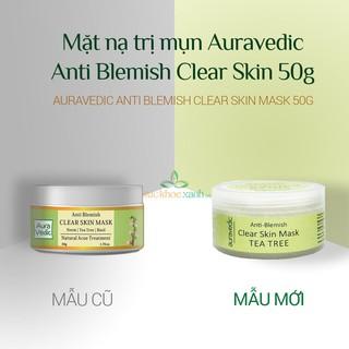 Mặt nạ trị mụn Neem AuraVedic Anti Blemish Clear Skin Mask 50g thumbnail