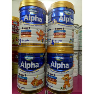 Sữa bột Dielac Alpha số 1 2 3 4 hộp thiếc 900g (Date luôn mới) thumbnail