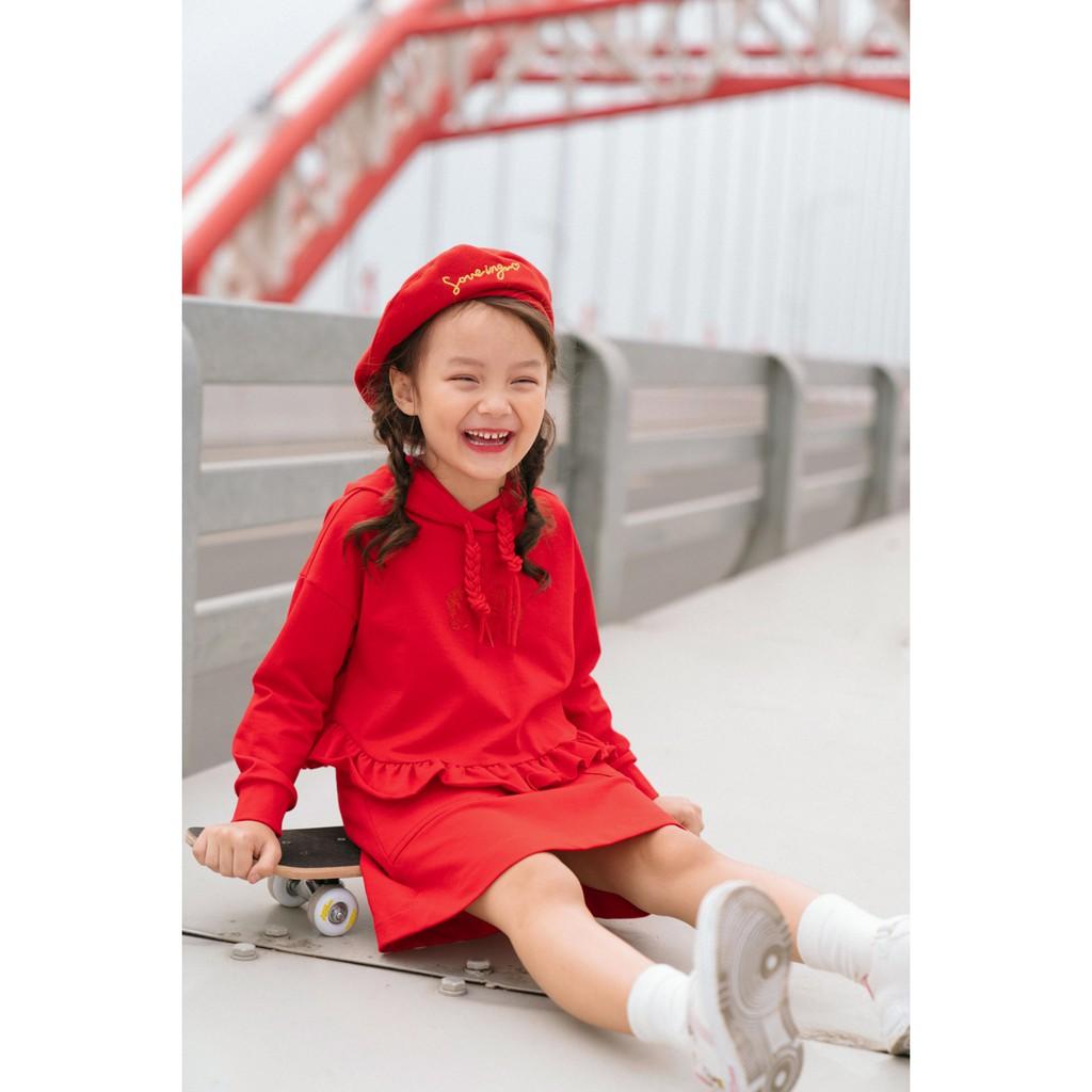 IVY moda áo thun bé gái MS 59G1022