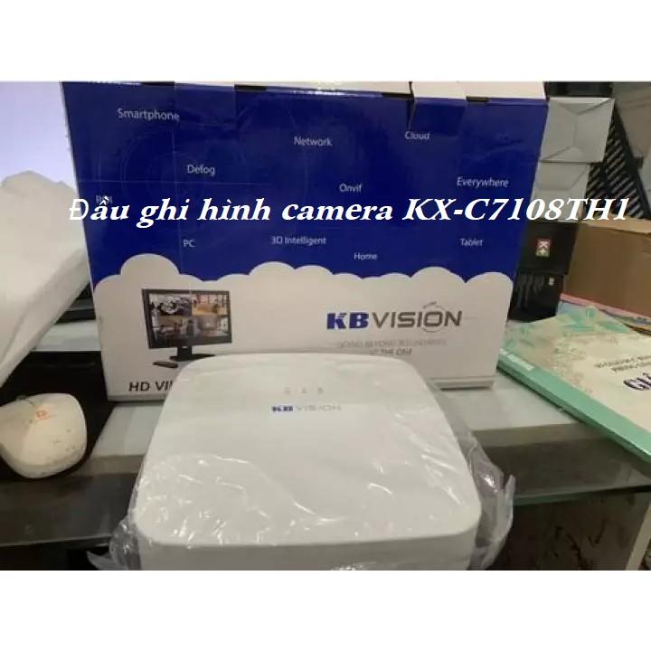 Đầu ghi hình 8 kênh 5 in 1 KBVISION KX-C7108TH1 - Hàng Chính Hãng