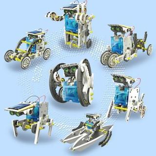 ROBOT TƯƠNG LAI 13 IN 1 EDUCATIONAL SOLAR ROBOT KIT 2115A -BỘ LẮP RÁP NĂNG LƯỢNG MẶT TRỜI thumbnail