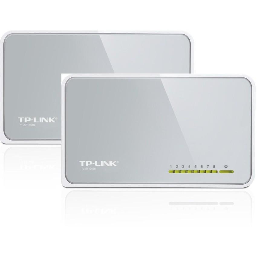 Bộ 2 Switch TP-Link SF1008D 8 port