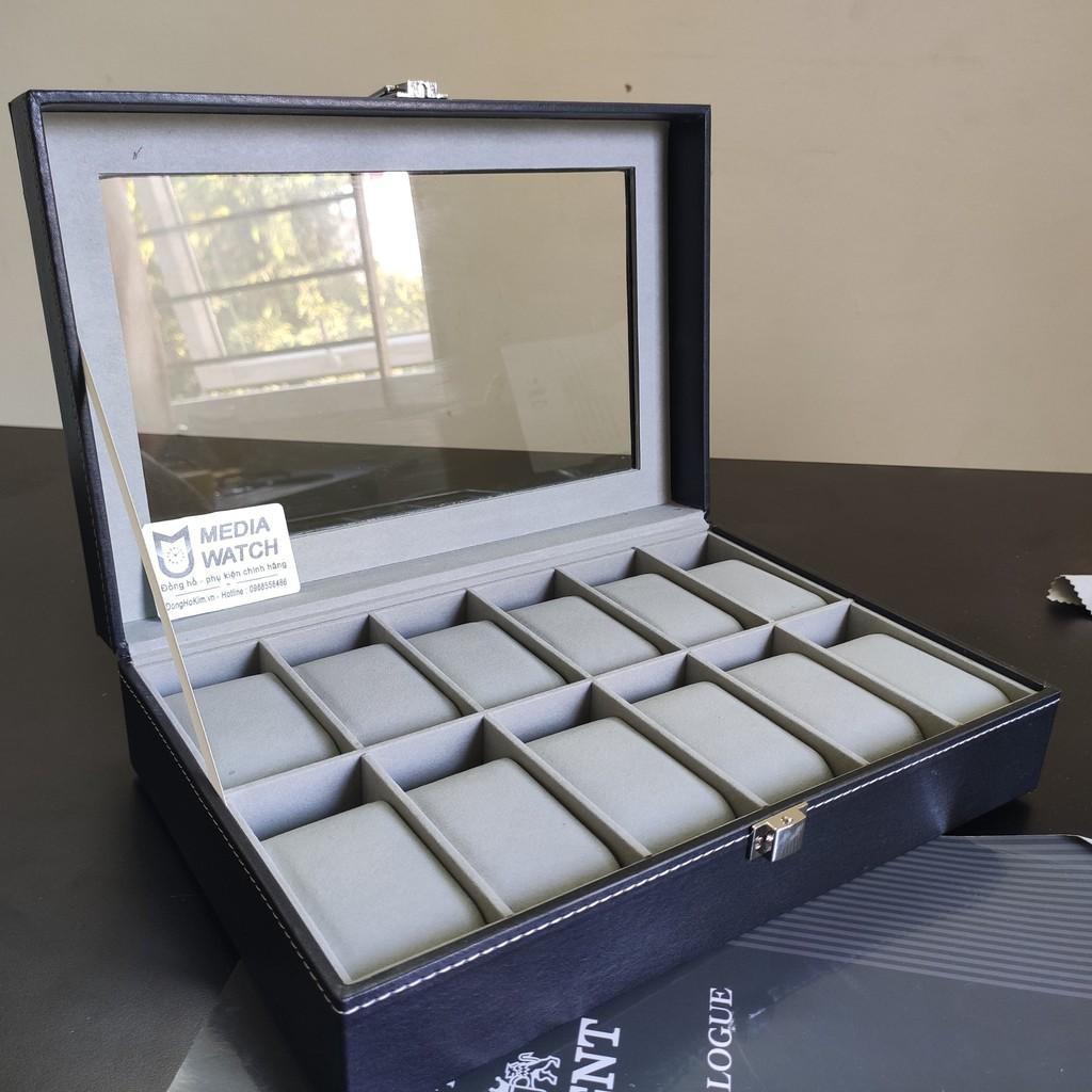 [Mã FASHION0808A giảm 15% đơn 150K] Hộp đựng đồng hồ, trang sức và kính mắt sang trọng
