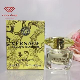 Nước hoa Versace Yellow Diamond chính hãng sang trọng thu hút kiêu sa