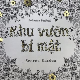 Tô màu dành cho người lớn Khu vườn bí mật