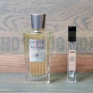 Nước hoa dùng thử Acqua Di Parma Acqua Nobile Gelsomino