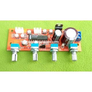 [Mã ELFLASH5 giảm 20K đơn 50K] Mạch chỉnh âm sắc LM1036 nguồn đơn AC / DC