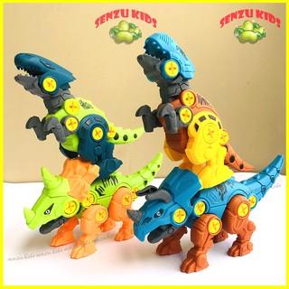 Đồ chơi mô hình khủng long SENZUKIDS lắp ghép cho bé 3 tuổi, đồ chơi xếp hình thông minh cho bé. thumbnail