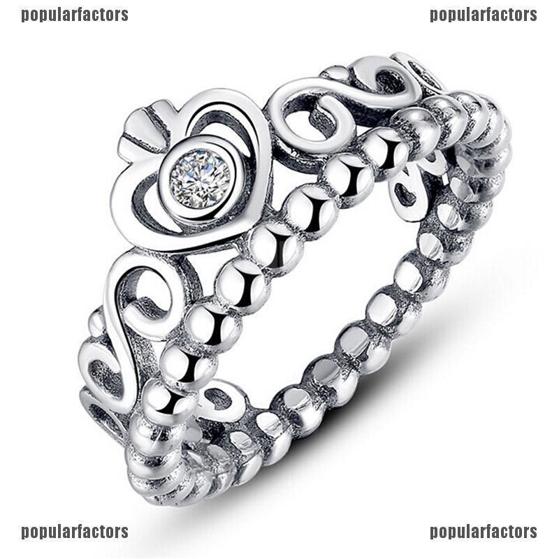 Nhẫn nữ mạ bạc hình vương miện đính đá thời trang - 14561627 , 1927581048 , 322_1927581048 , 61200 , Nhan-nu-ma-bac-hinh-vuong-mien-dinh-da-thoi-trang-322_1927581048 , shopee.vn , Nhẫn nữ mạ bạc hình vương miện đính đá thời trang