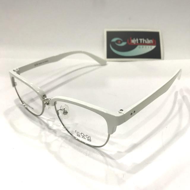 Gọng dẻo Tr90 - gọng kính loại đẹp - kính trắng