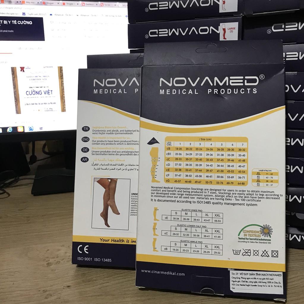 Vớ y khoa Vớ giãn tĩnh mạch vùng dưới gối NOVAMED Made in Thổ Nhĩ Kì