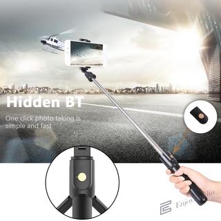 EN Foldable Bluetooth Selfie Stick Expandable Remote Shutter Tripod Monopod
