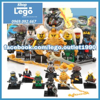 Xếp hình Ninjago Golden Dragon Lego Minifigures LeLe A033 040 thumbnail