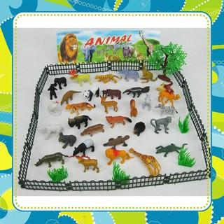 Hot Bộ đồ chơi động vật hoang dã cho bé Freeship *Cao Cấp*