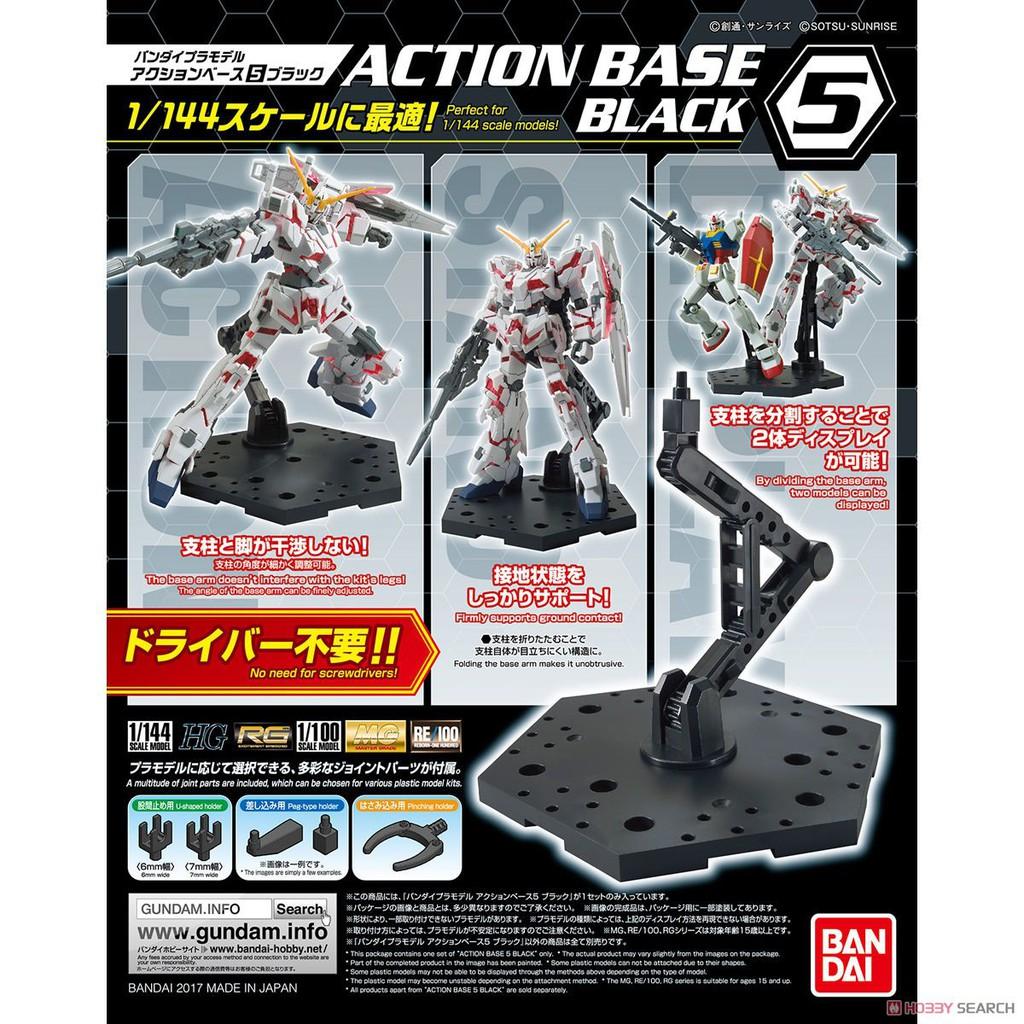 Đế dựng mô hình Gundam BANDAI Action Base 5