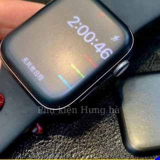 Kính cường lực nhám 3D Full màn dẻo chống vân tay cho Apple watch hiệu Glass