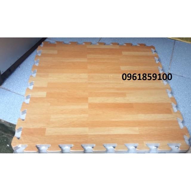 Combo 16 xốp ghép lót sàn vân gỗ 60x60cm