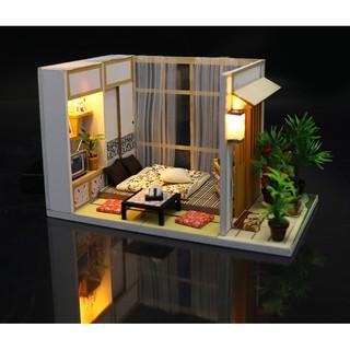 Lắp ghép nhà búp bê – Căn phòng phong cách Nhật – Charming Room