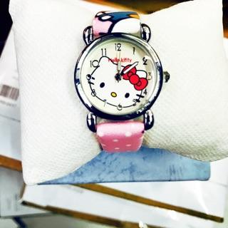 Combo 3 đồng hồ kitty dây da