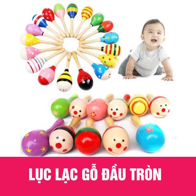 Lục lạc gỗ đầu tròn đồ chơi cho bé - 3292324 , 1001387388 , 322_1001387388 , 22000 , Luc-lac-go-dau-tron-do-choi-cho-be-322_1001387388 , shopee.vn , Lục lạc gỗ đầu tròn đồ chơi cho bé