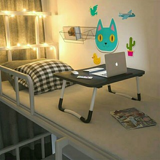 Folding table for study Multifunctional workbench with telephone slot Animal folding table Suitable for genuine ipad-student desk Bed desk Notebook computer desk Student dormitory study desk Foldable lazy small table Child dining table