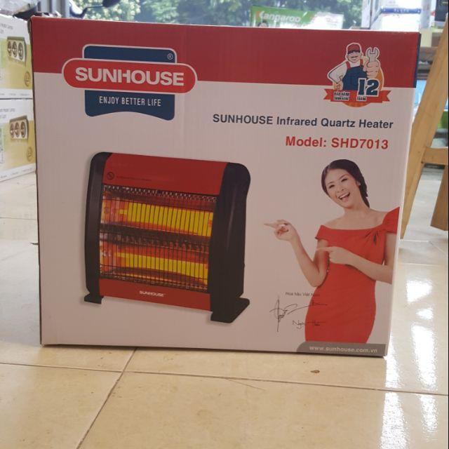 [Mã ELSR11 giảm 6% đơn 400K] Quạt sưởi sunhouse 2 bóng cam kết hàng chính hãng công ty