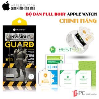 [VIDEO HƯỚNG DẪN + TOOL] Bộ Miếng Dán 2in1 Apple Watch Full Body Chính Hãng BestSuit Series 5/4/3/2/1 size 38|40|42|44mm