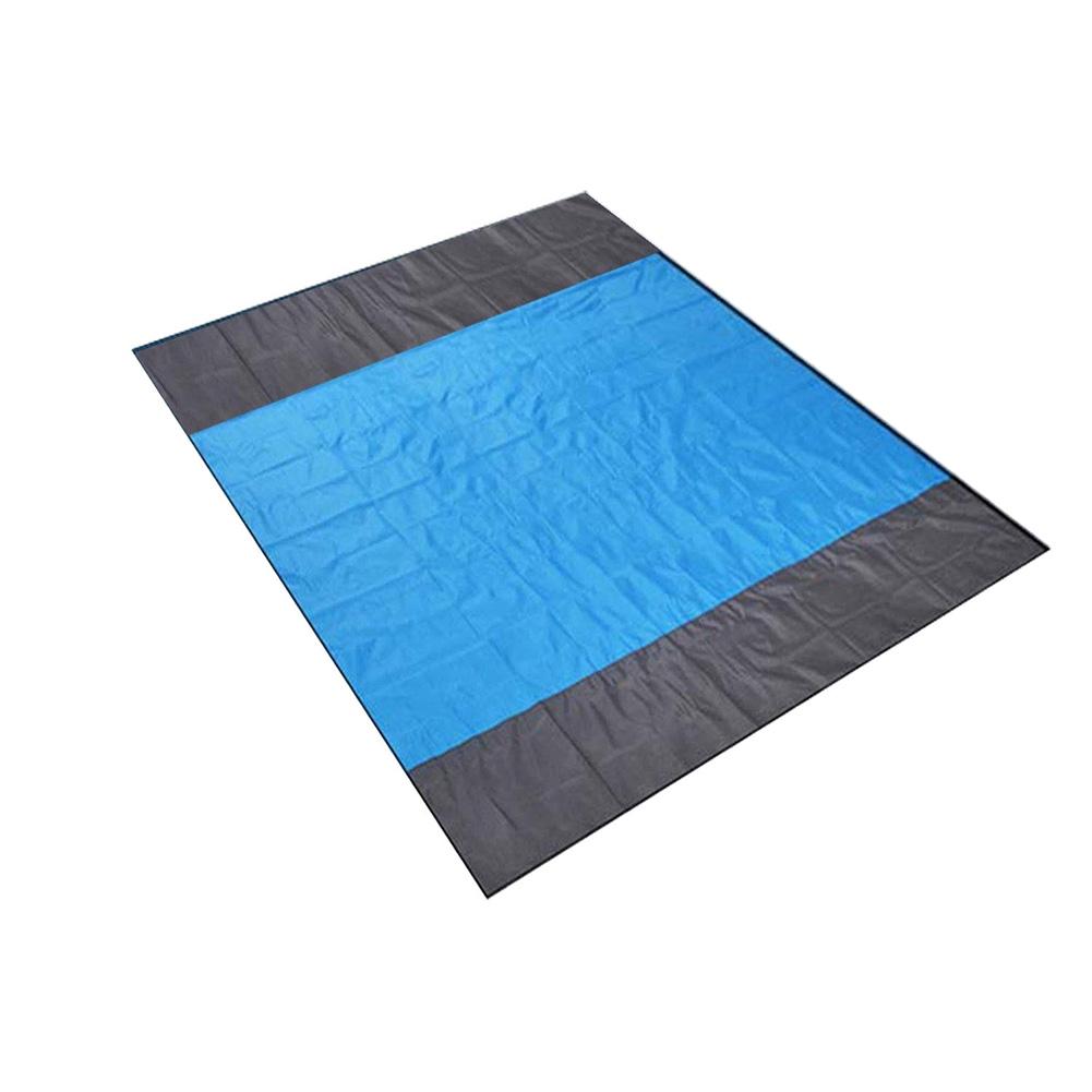 Waterproof Nylon Folding Travel Camping Sand Free Sleeping Moisture Resistance Hiking Quick Drying Picnic Beach Mat