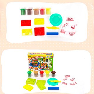 Baby Creative Gift Learning Prize Delicious Picnic Safety Color Plasticine Play Clay