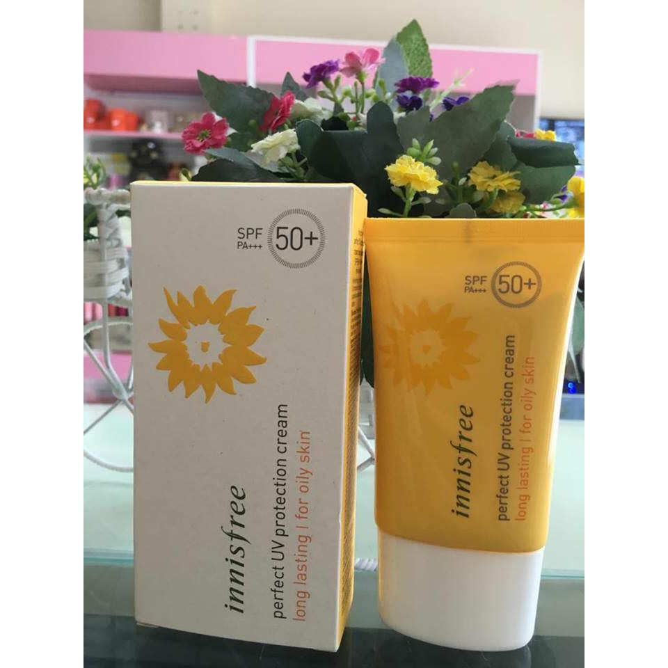 Kem Chống Nắng Innisfree Perfect UV Protection Cream Long Lasting For Oily Skin - 2586656 , 1075453327 , 322_1075453327 , 300000 , Kem-Chong-Nang-Innisfree-Perfect-UV-Protection-Cream-Long-Lasting-For-Oily-Skin-322_1075453327 , shopee.vn , Kem Chống Nắng Innisfree Perfect UV Protection Cream Long Lasting For Oily Skin