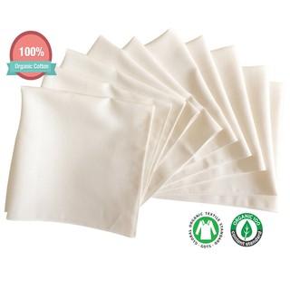 Khăn sữa cotton hữu cơ John N Tree
