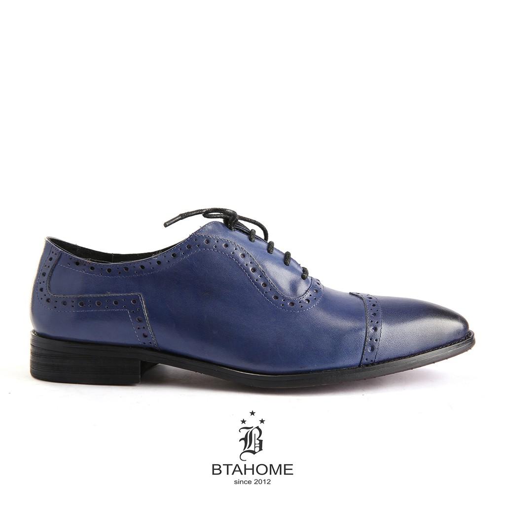 Giày Oxford BTAHOME mã LX 220-2 màu sắc cá tính