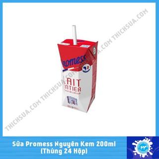 Sữa tươi Promess 200ml Ful cream. thumbnail