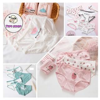 Yêu ThíchBộ 4 quần lót nữ cotton ( 9 mẫu mới nhất )