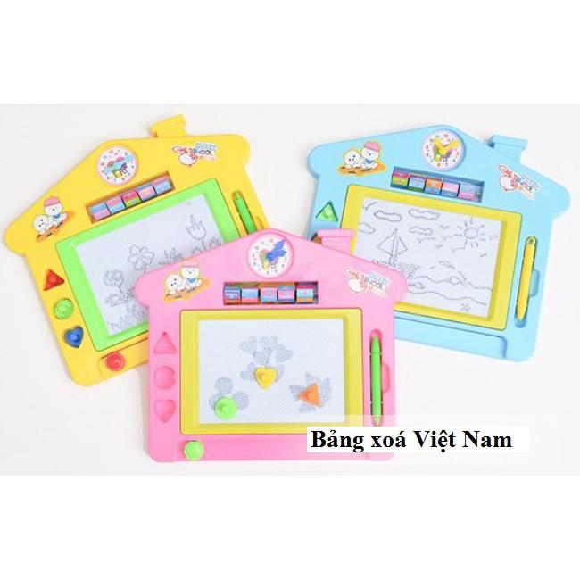 Bảng viết tự xóa ngôi nhà - Bảng từ: Hàng Việt Nam (Nhiều màu)