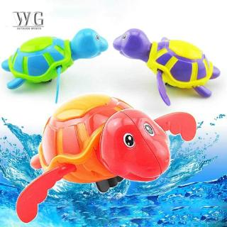 ♔WG♔ Play Turtles Water Kids Bath Pool Tub Animals Sounding Toys Swim Clockwork