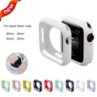 Ốp silicon cho đồng hồ thông minh Apple Series 5 4 3 2 1 38mm 42mm 40mm 44mm thumbnail