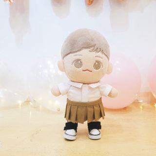 Bộ đồng phục dành cho doll 20cm