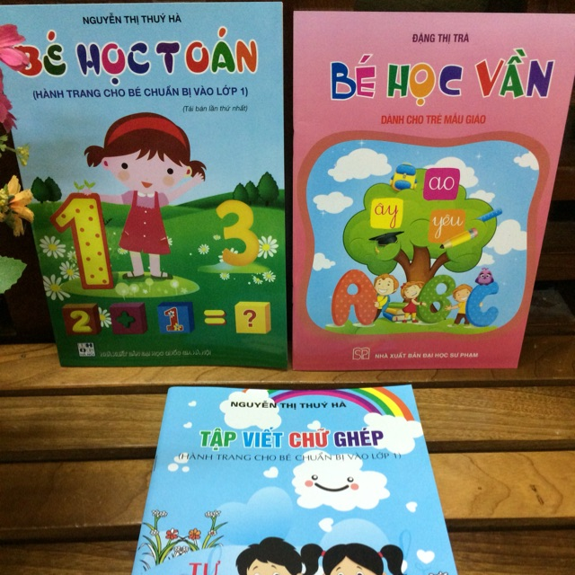 Combo 3 cuốn sách chuẩn bị cho bé vào lớp 1