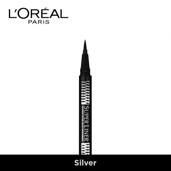 Bút Kẻ Mắt 2 Đầu L'Oreal Super Liner Duo Metallics | Shopee Việt Nam