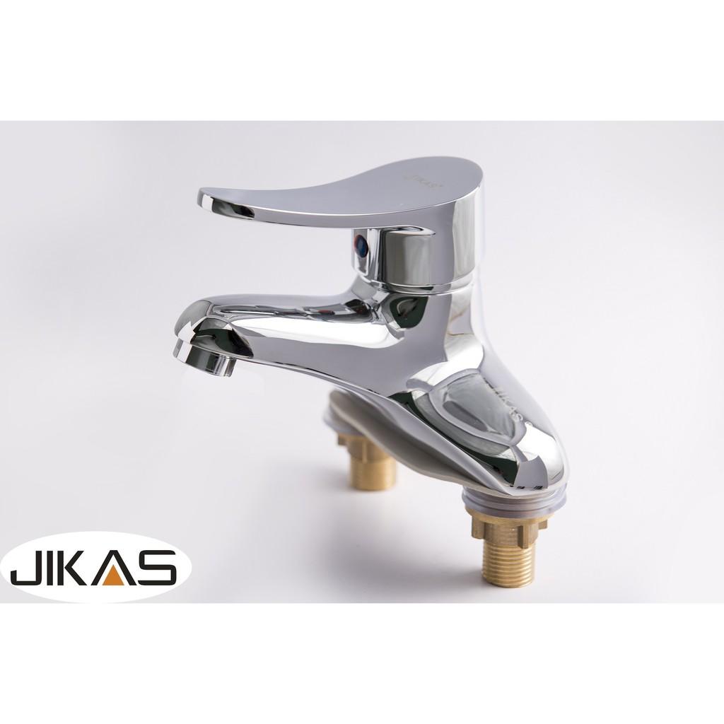 Bộ vòi chậu rửa nóng lạnh JIKAS JK-5001