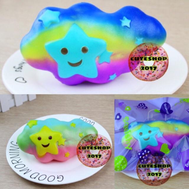 squishy mây ( lấy ngẫu nhiên 2 màu như ảnh)