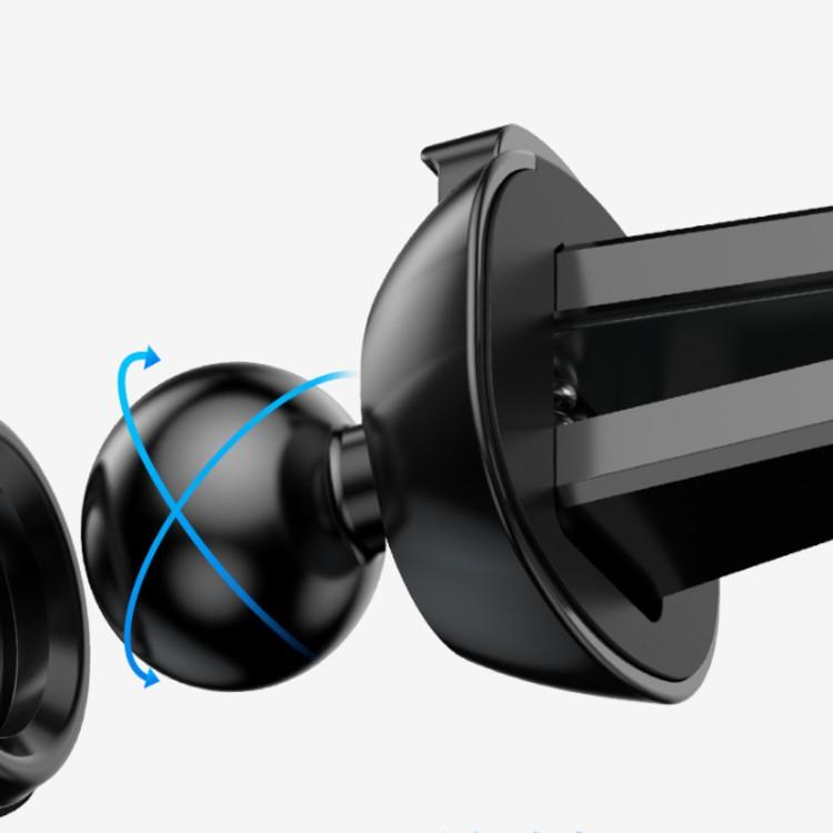 Giá đỡ điện thoại trên ô tô kiêm sạc không dây Baseus WXYL-B0A, Quick charge, công suất 10W - Hàng chính hãng